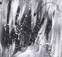 Abstrakt, Modern, Schwarz weiß, Fantasie