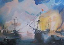Flotte, Aiwasowski, Seeschlacht, Meer