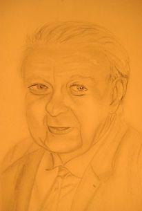 Freund, Bleistiftzeichnung, Zeichnen