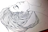 Molotow, Hoffnung, Portrait, Zeichnung