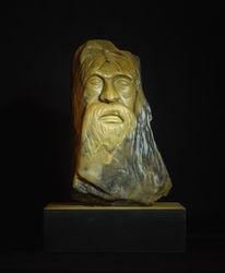 Skulptur, Gelb, Relief, Grazyna federico