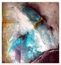 Abstrakt, Erde, Blau, Braunschweig