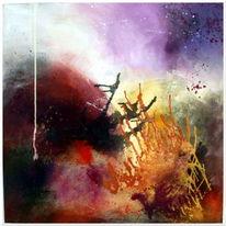 Erneuerung, Wandel, Abstrakt, Malerei