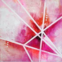 Geometrisch, Forms, Funkelnd, Gemälde