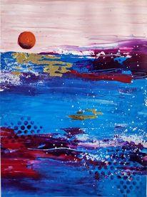 Ozean, Meerblick, Wasser, Sonnenuntergang