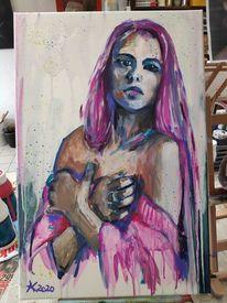 Frau, Expressionismus, Modell, Mädchen