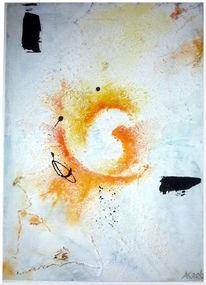 Struktur, Weiß, Orange, Abstrakt