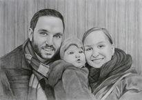 Baby, Portrait, Menschen, Eltern