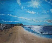 Meer, Sonne, Irland, Sand