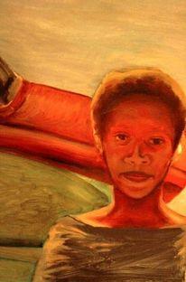 Havanna, Gemälde, Afro american, Ölmalerei