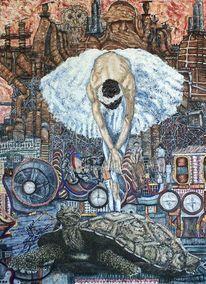 Zerstörung, Romans, Parabel, Ballerina