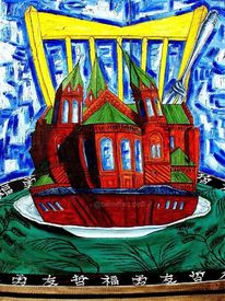 Kirche angerichtet, Iserlohn, Stuhl, Tisch