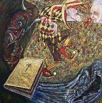 Tod, Dreifaltigkeit, Narr, Teufel
