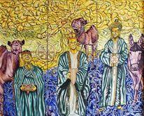 Scheinheilig, König, The unholy kings, Tryptichon