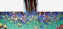 Triologie, Blumen, Blumenmeer, Erde