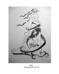 Fantasie, Malerei, Krebs