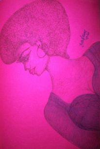 America usa, Zeichnungen, Afro, Queen