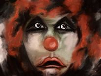 Clown, Fantasie, Digitale kunst, Surreal