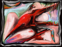 Fantasie, Bunt, Farben, Digitale kunst