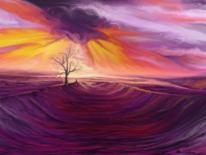 Wolken, Leben, Malerei, Menschen