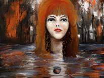Wasser, Ausdruck, Fantasie, Herbst