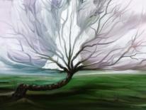 Baum, Fantasie, Seele, Digitale kunst
