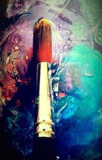 Fantasie, Malerei, Malen, Moment