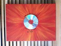 Rot, Acrylmalerei, Spiegel, Leben