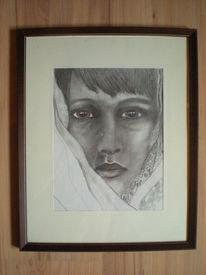 Hochwärtige bleistiftkunst, Zeichnungen, Portrait, Ausdruck