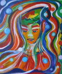 Märchenhaft, Traumwelten, Malerei, Traumwelt