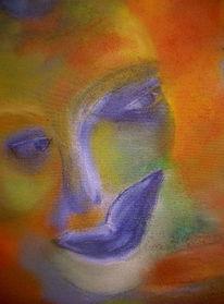 Maske, Menschen, Malerei