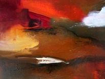 Braun, Abstrakt, Struktur, Orange