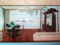 Malerei, Wandmalerei