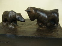 Kurs, Bronze, Macht, Börsencrash