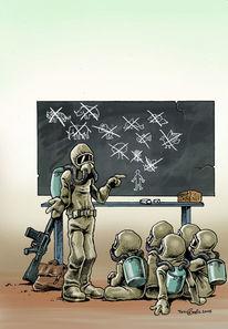 Unterricht, Umweltzerstörung, Schule, Lehrer