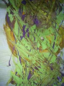 Leintuch acrylfarbe, Malerei