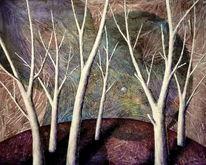 Organisch, Muster, Landschaft, Transparenz