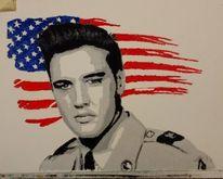 Armee, Elvis presley, Malerei