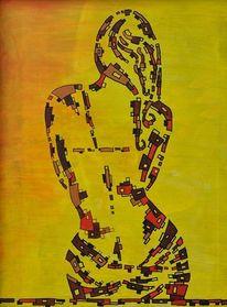 Stille, Entschleunigung, Ruhe, Malerei