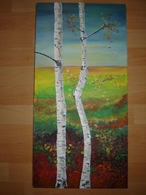Blätter, Leben, Herbst, Landschaft