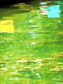 Licht, Farben, Wasser, Spiegelung