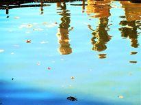 Teich, Verzerrung, See, Wasser