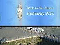 Nürnberg 2025, Kulturhauptstadt, Raumfähre, Zeitreise