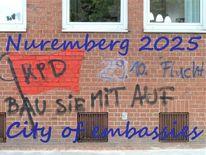 Aufbauen, Botschaft, Kulturhauptstadt, Nürnberg 2025