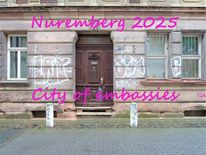 Hausfassade, Kulturhauptstadt, Botschaft, Nürnberg 2025