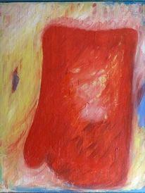 Fehde, Objekt, Handschuhe, Malerei