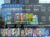Ankündigung, Kaspar hauser, Text, Festival