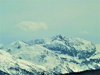 Panorama, Schnee, Winter, Berge