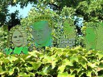 Blätter, Collage, Baum, Tarnen