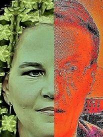 Grün, Menschen, Politische farbenlehre, Bundestagswahl